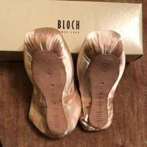 Bloch Shoes - Bloch Heritage Strong Pink Pointe Shoes